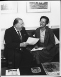US Senator from W.Va. Jennings Randolph, 1982