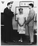 Don Robertson (l), Mrs. Robertson, Phil Farthing, Sigma Phi Epsilon