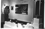 MU graduate E. Nanette Seligman showing art work in Birke Art Gallery