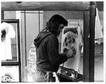 Airbrush artist Dave R. Sheppard at MU student center