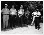 Visiting educators at ROTC summer camp, Annville, Penn., July 1965