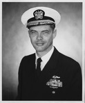 US Navy Captain Robert W. Stecher, SS(B)N 611, submarine