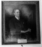 Photo of Painting of Marshall College President Morris P. Shawkey