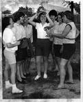 MU girls softball players, ca. 1960's