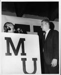MU student Joe Dial, of Marshall Stag Club