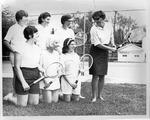MU women's tennis team