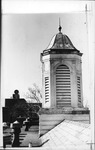 Bell tower of Morrow Library, Marshall University