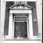 Door and North (3rd Avenue) entrance, Morrow Library
