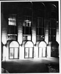New South (campus) entrance, Morrow Library, ca. 1970, Morrow Library