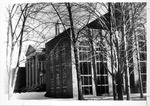 New west wing addition, Morrow Library, ca. 1970