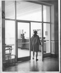 Entrance, Morrow Library, after 1968 additions