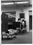 Reading room, Morrow Library