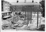 Construction of Buskirk Hall, Marshall Univ campus, ca.1965