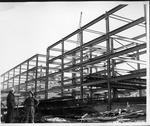 Construction of Buskirk Hall, Marshall Univ campus, ca.1966