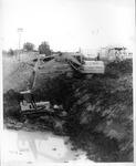 Construction of Cam Henderson center, Marshall Univ. campus, 1981