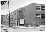Construction of Physical Ed. Building, later Gullickson Hall, ca. 1961