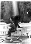 Construction of Marshall Memorial Fountain, ca. 1970's