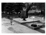 Marshall Memorial Fountain soon after completion, ca. 1971