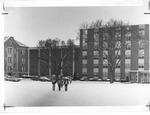 Harris Hall and Buskirk Hall Marshall campus,
