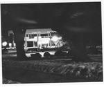 Night view,, MU Student Center, ca. 1980's