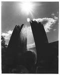 Sunny view, Marshall Memorial Fountain
