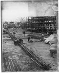 Construction of MU Smith Hall complex,ca. 1965
