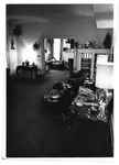 Living room, Marshall President's home , ca. 1980