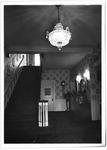 Hallway & staircase, Marshall President's home , ca. 1980