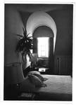 Bedroom, Marshall President's home , ca. 1980