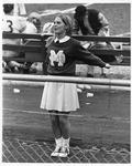 Marshall cheerleader Nancy Sheppe