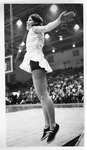 Marshall cheerleader Debbie Hansford