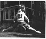 Marshall cheerleader Diane Meadows, South Charleston Junior