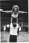 Marshall cheerleader Kathy Wilson, senior
