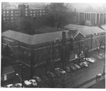 Hodges Hall, from the southeast corner, ca. 1960's