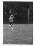 Marshall Intramural softball player