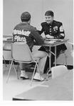 Military career day, Marshall student center, April 5, 1982(?)