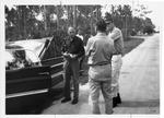 MU Engineering Prof. Thomas W. Olson (dark shirt) in the Everglades