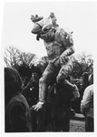 Figure representating MIA's, Washington Peace Rally, Jan. 20, 1973
