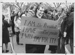 Anti-war protest at MU, Jan. 1973