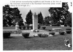 Memorial monument to MU plane crash victims, Spring Hill Cemetery, Huntington