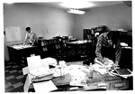 MU Chief Justice yearbook staff moves to new office, June, 1969