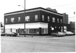 Outside view of old MU Engineering Bldg, once the Brumfield Meat Market, 1972