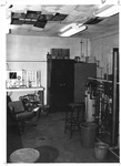Inside view of old MU Engineering Bldg, once the Brumfield Meat Market, 1972