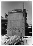 Construction of the first Holiday Inn in Huntington, Jan. 1975