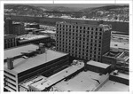 First downtown Holiday Inn in Huntington, 1975