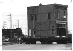 Moving the old Huntington Bank Building to Heritage Station, ca. 1970's