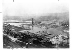 Steamboats at the Pittsburgh, Penn., wharf