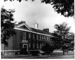 Exterior of Jenkins Hall, MU Lab School, ca. 1970's