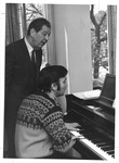 Dr. Alfred P. Lanegger (standing) and Dr. Michael E. Cerveris, ca. 1970's