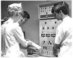MU nursing students getting instructions from Patricia Lambert, RN, 1969